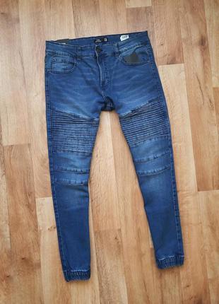 Snsy джинсовые джоггеры