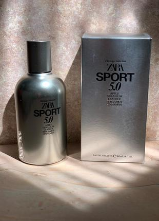 Духи zara sport 5.0 /чоловічі парфуми /туалетна вода /парфюм