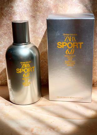 Духи zara sport 6.0/чоловічі парфуми /туалетна вода
