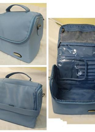 Фирменная дорожная сумочка travelon со множеством отделений. 24х15х24см