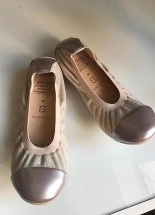 Новые нежные красивые туфли geox