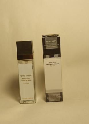 Narciso rodriguez for her pure musc парфюмированная вода