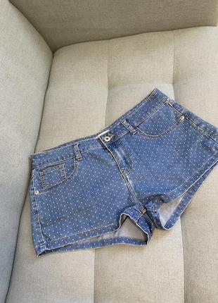 Шорти джинс шорты