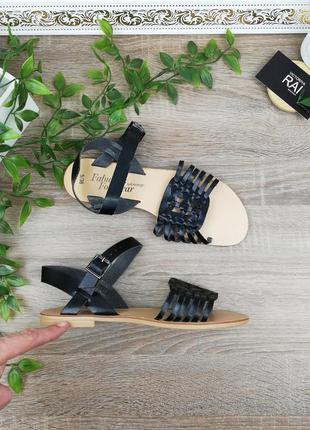 🌿38🌿европа🇪🇺 george. италия. комфортные босоножки, сандалии на низком ходу