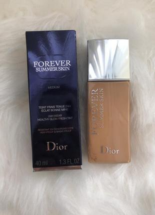 Тон dior forever summer skin 003