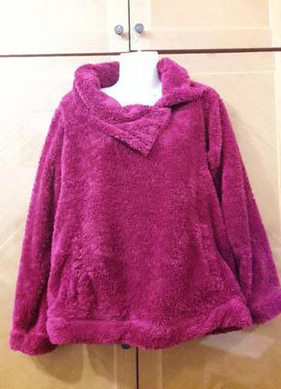 Брендовая  теплая пижамная кофта домашняя одежда  р.m от f&f