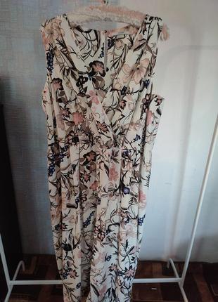 Платье сарафан макси