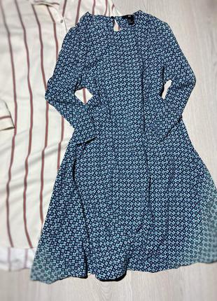 Стильное платье свободного фасона h&m