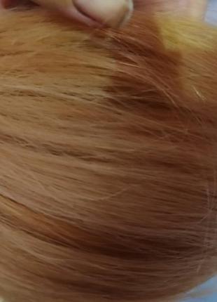 Волосы натуральные славянские.