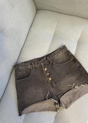 Шорти boohoo джинс шорты