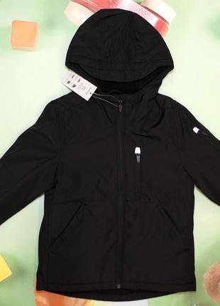 Куртка для мальчика черная демисезонная george