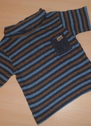 Стильная футболка rebel, 2-3 года, 92-98 см, оригинал