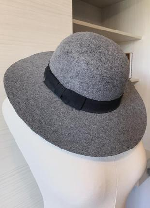 Шерстяная шляпа с широкими полями - премиум бренд fat face