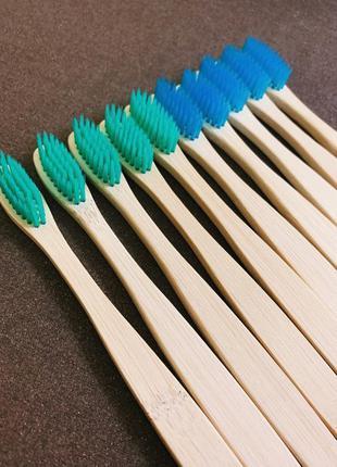 Набір зубних щіток, зубна щітка бамбукова, щітка зубна.