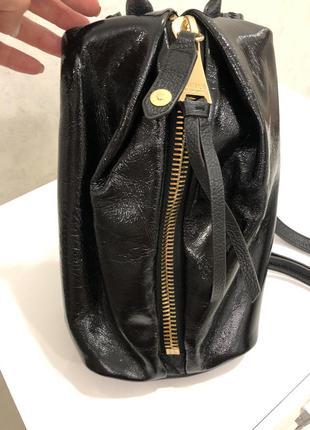 Кожанный рюкзак