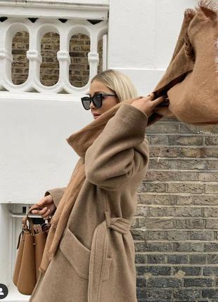 Пальто из шерсти premium h&m!