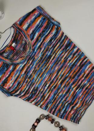 Кофта свитер безрукавка красивая мягкая шерстяная h&m uk 10/38/s