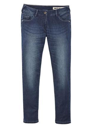 Джинсы узкие skinny fit jeans с утяжкой хс,с