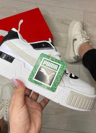 Puma cali sport heritage white