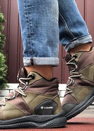 Мужские зимние ботинки columbia🔥