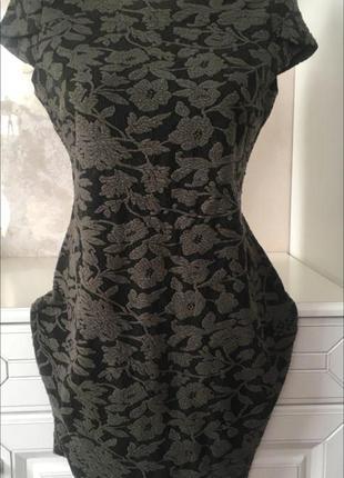 ❤️брендовое трикотажное платье по фигуре