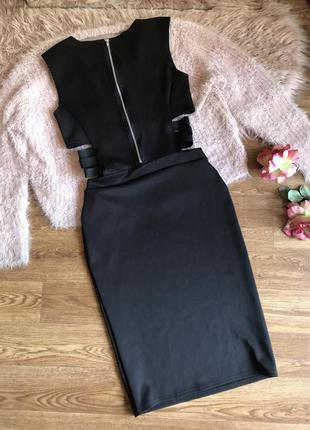 Платье с открытыми боками(s/m)