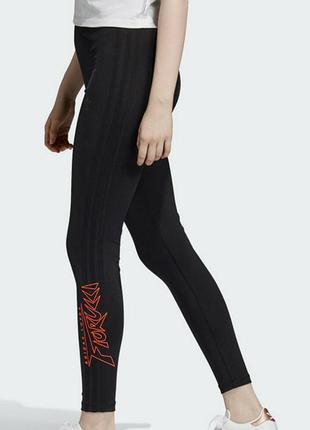 Легинсы, лосины fiorucci x adidas размер s