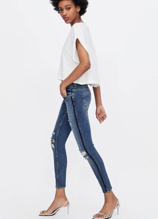 Джинсы zara. джинси