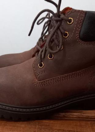 Lumberjack кожаные ботинки шкіряні черевики 36 р. 23 см