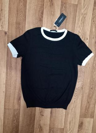 Женский джемпер футболка с коротким рукавом