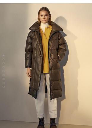 Куртка шкіряна massimo dutti