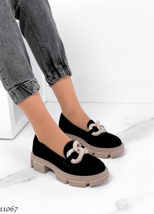 Туфли замшывые
