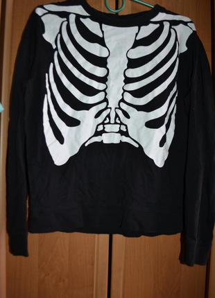 Мужской карнавальный костюм на хэллоуин, хеловин, хеллоуин, скелет