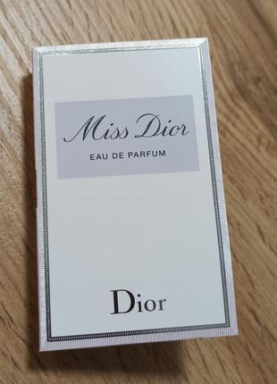 Dior miss dior парфюмированная вода