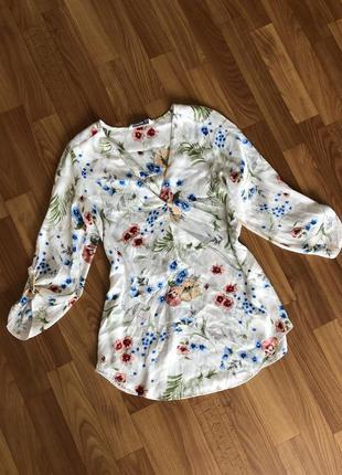 Блуза рубашка блузка нарядная stradivarius