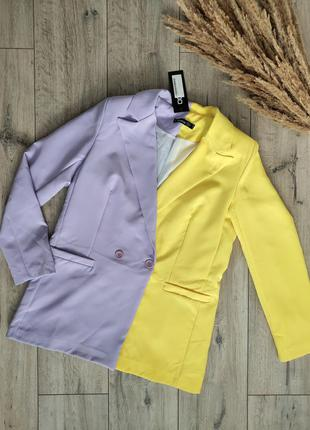 Пиджак яркий