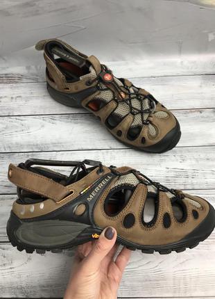Оригінальні шкіряні сандалі merrell