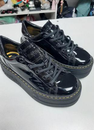 Туфли лаковые d. franklin