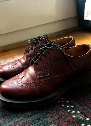 Dr martens oxford shoes