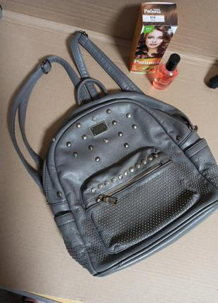 Сумка, рюкзак, женская, зам кожа d&k, париж