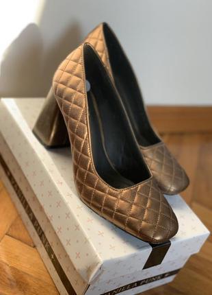 Geox respira кожаные туфли на каблуке ортопедические удобные...