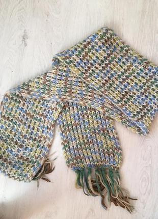 Обалденный теплый длинный большой шарф
