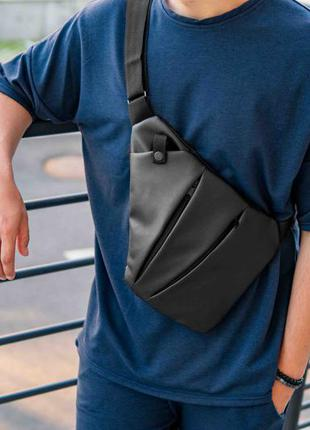 Мужская сумка мессенджер кросс боди / нагрудная сумка / cross body /слинг