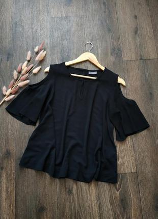Красивая блуза с разрезами на руковах