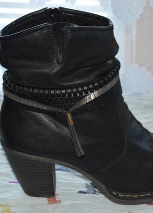 Cапоги ботинки чоботи rieker розмір 39 40, сапожки