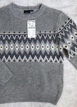 Светр для хлопчика, в'язаний светр, тепла кофта, свитер для мальчика