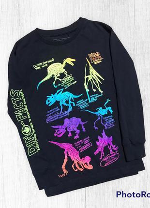 Next коллекция 2020 год лонгслив футболка с длинным рукавом динозавр 6 лет