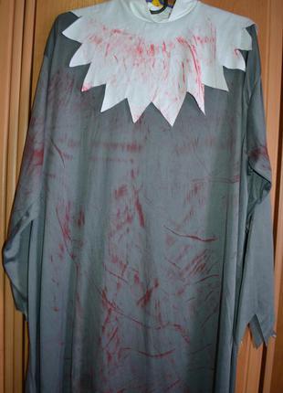 Мужской карнавальный костюм на хэллоуин, хеловин, хеллоуин, балахон