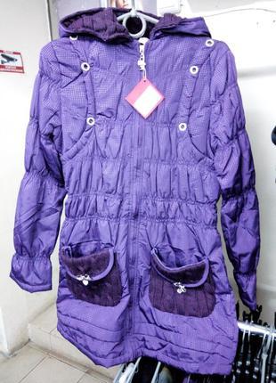 Осеннее пальто на девочку1