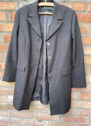 Классический трендовый итальянский пиджак camilla conte